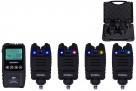 Набор электронных сигнализаторов поклевки с пейджером Hoxwell - HL72М(4+1)
