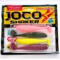 Виброхвосты съедобные LJ Pro Series JOCO SHAKER 3.5in (08.89)/MIX 4шт.