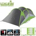 Палатка алюминиевые дуги 3-х местная Norfin SALMON 3 NF ( скидка 30% )