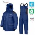 Костюм NOVA TOUR BURAN V.2 BLUE для снегохода и рыбалки