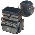 Ящик-сумка-Рюкзак рыболовный пенопластовый 3-х ярус. B-3LUX