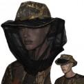 Шляпа-Ковбойка с антимоскитной сеткой Лес