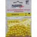 Насадки искусственные S ВАНИЛЬ кислотно-желтый цвет (10 шт)