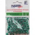Насадки искусственные XL КОНОПЛЯ зеленый цвет (10 шт)