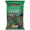 Прикормка Sensas 3000 Super FEEDER RIVER Black 1кг