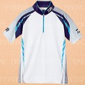 Рыболовная рубашка DAIWA Polo long sleeve Wicksensor DE-7604 Blue