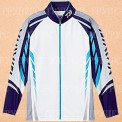 Рыболовная рубашка DAIWA Polo long sleeve Wicksensor DE-7504 Blue