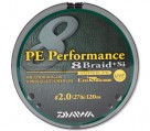 Плетеная леска PE Performance 8 Braid + Si