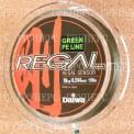 Плетеная леска DAIWA Regal Sensor - 10kg - 0.244мм - 150м (зелёная)