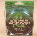 Монолеска DAIWA Super Shinobi Mist Green 150m (0,31mm)