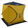 Палатка-куб зимняя Helios (1,8х1,8) желтая/серая